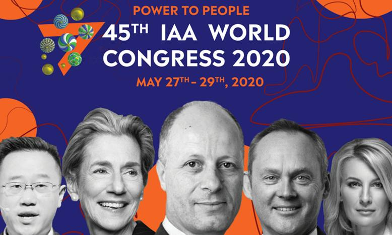 第45届IAA世界广告大会将于圣彼得堡热烈展开 以「Power to People」为主题